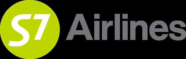 Логотип S7 Airlines на прозрачном фоне