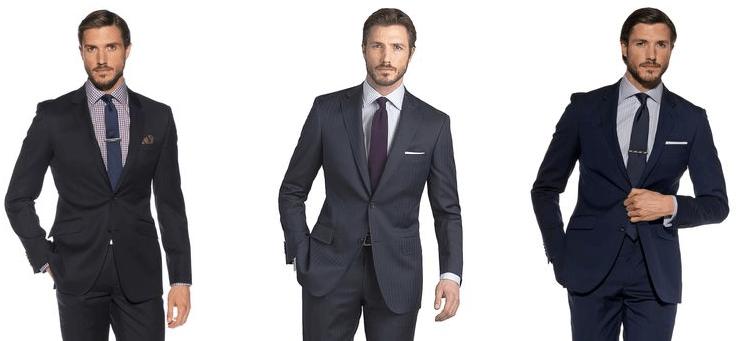 Мужские костюмы в интернет-магазине T.M.Lewin