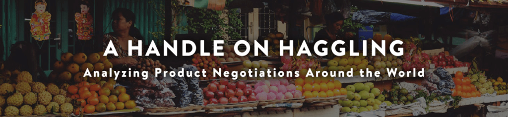 A Handle on Haggling