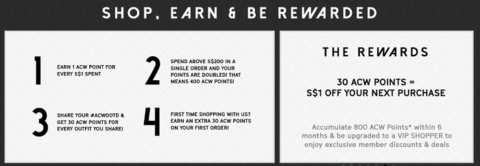 Get rewarded for shopping at Anticlockwise
