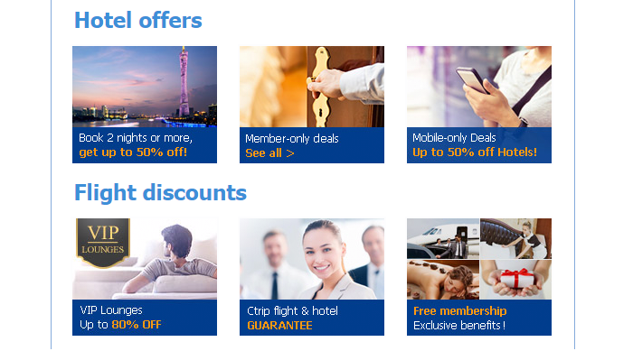 Offer on Ctrip