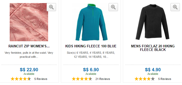 Different products at great prices - Decathlon