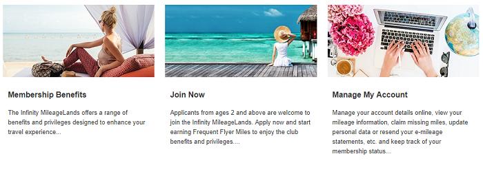 Mileage club at Eva Air