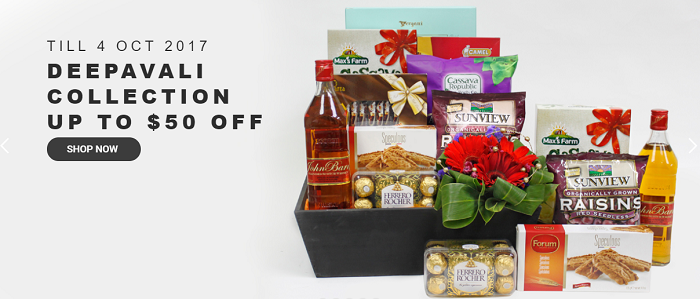 Far East Flora's hampers