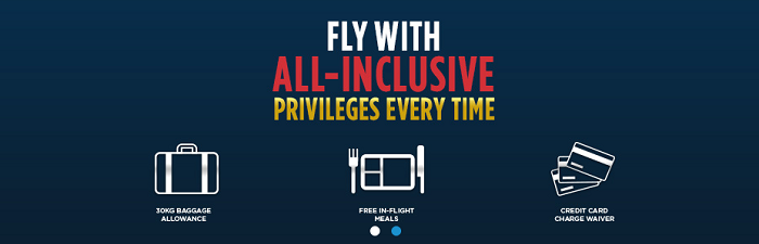 Malaysia Airlines' exclusive services