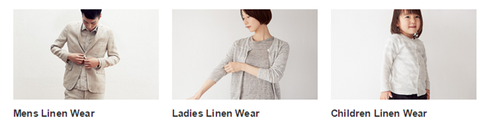 quality womenswear at great prices at MUJI