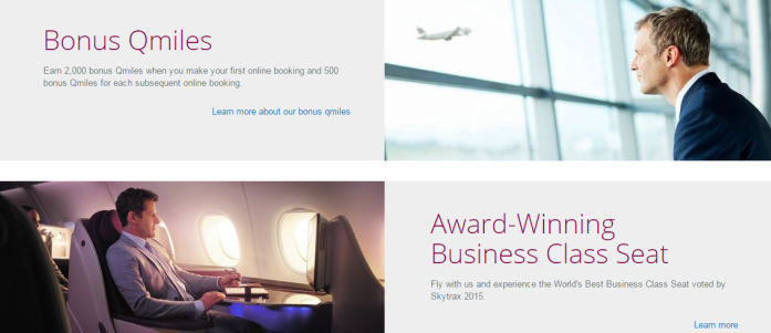 Qatar Airways - Bonus Qmiles