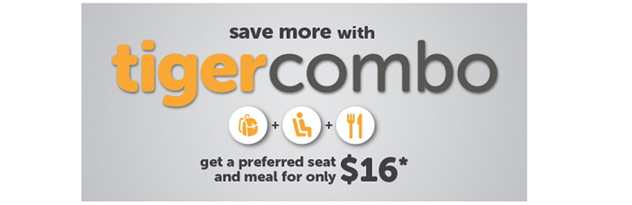 TigerAir combo offers - save money with Tigerair