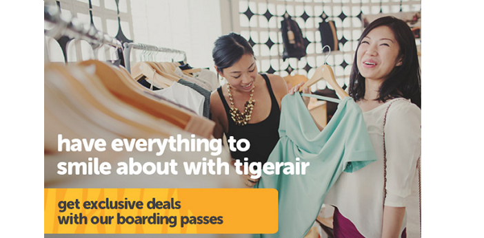 get exclusive deals at TigerAir