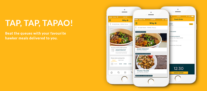 Order with an app