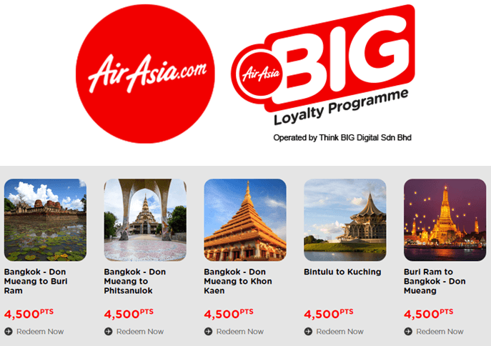 loyalty programme at AirAsia
