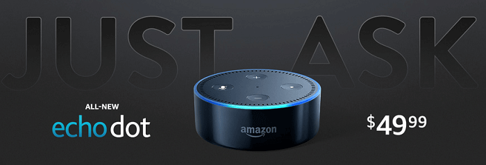 Just Ask - All New Echo dot