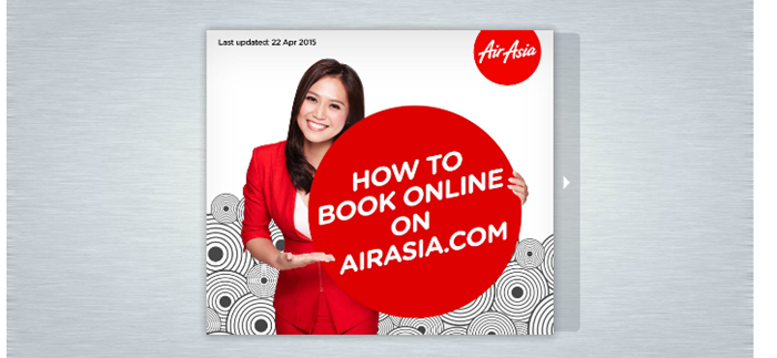 AirAsia booking guides