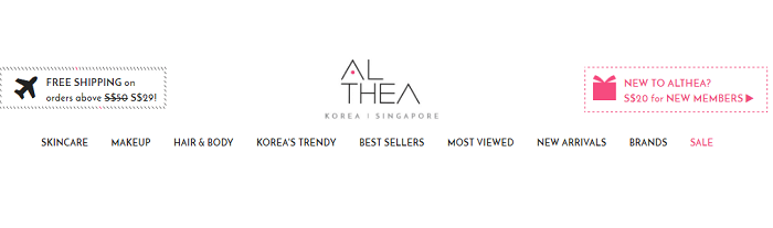 Althea website