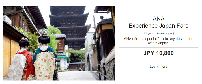 Experience ANA Airlines