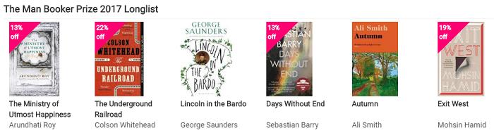 Man Booker's prize winners