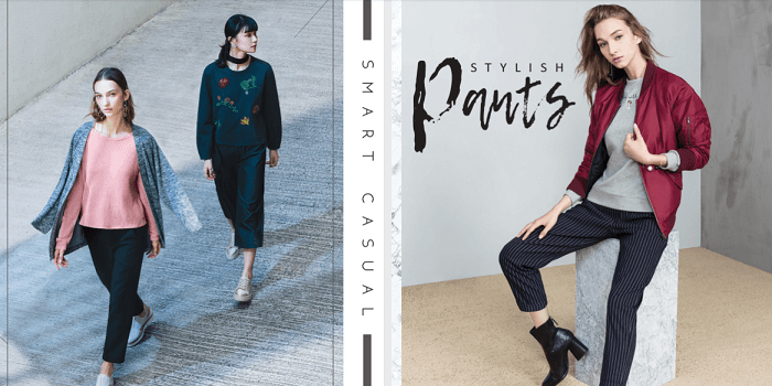 The pants collection