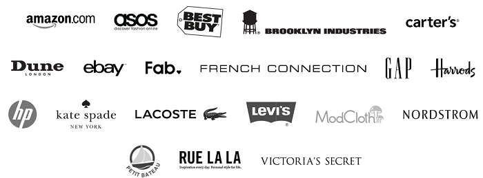 Brands available at Borderlinx
