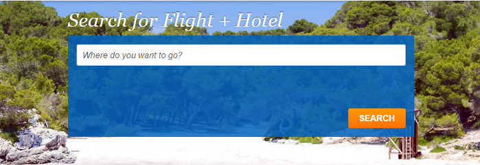 search for flight and hotel deals