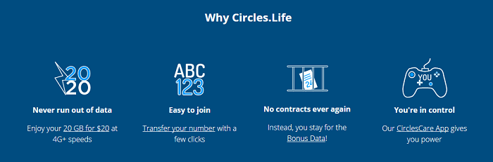 Why should you choose Circles.life?