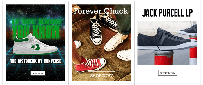 Converse front page - get inspired by it!