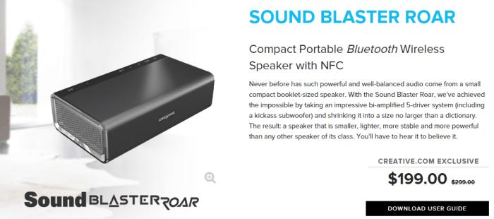 Creative portable bluetooth wireless speaker
