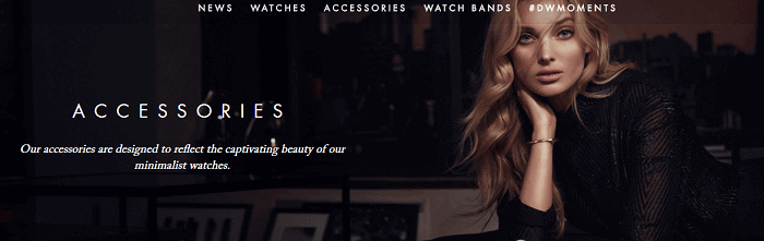 Accessories available at Daniel Wellington