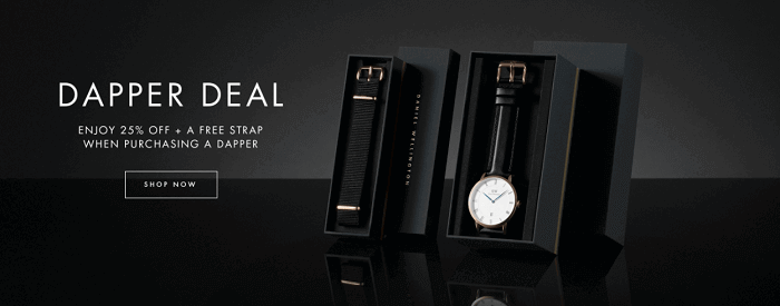 Deals at Daniel Wellington