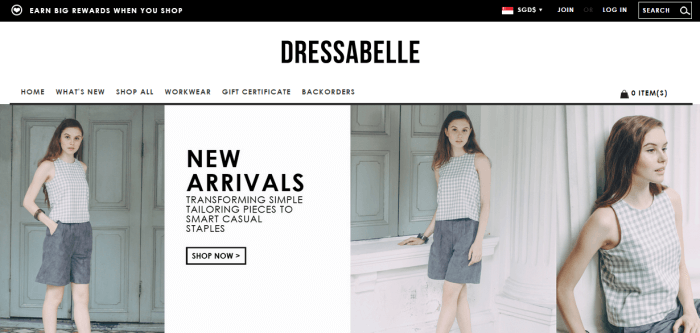 Dressabelle homepage