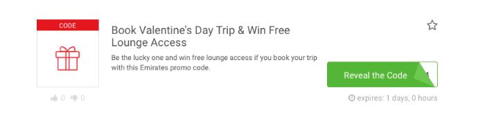 Emirates voucher code