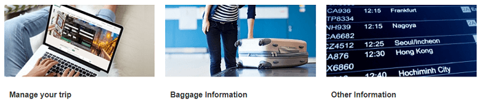 Manage your booking with Eva Air