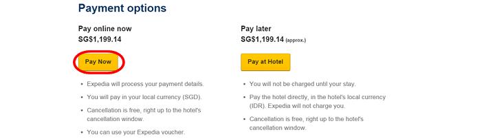 Pakistan Expedia online payment