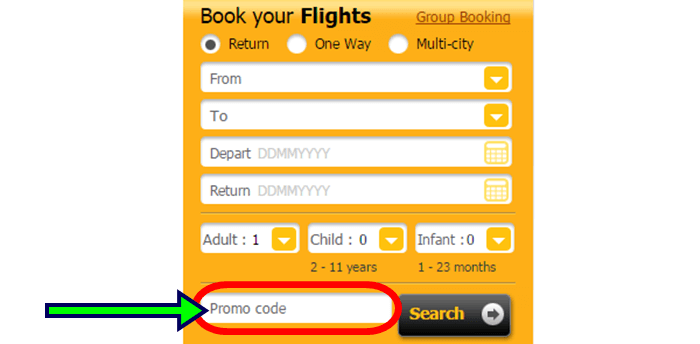 how to book flights at Scoot