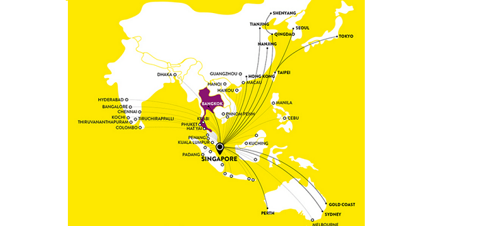 Scoot destination - pick your preferred location