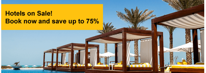 hotels on sale at Flyscoot