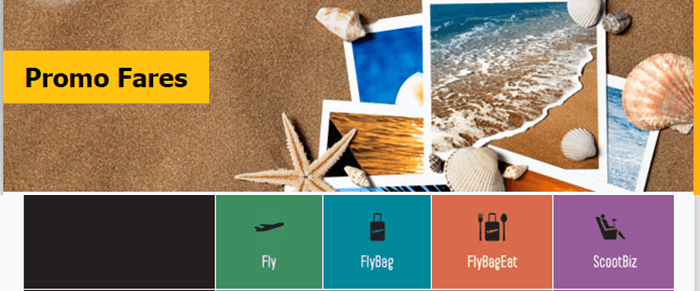 great prices at Fly Scoot