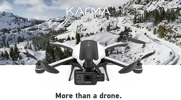 Explore the area with GoPro's drones