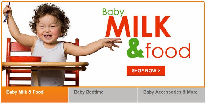 Milk & baby formulas
