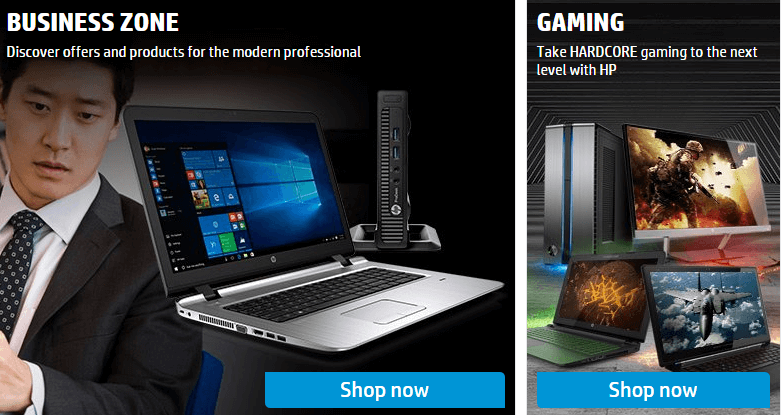 HP offers wide range of business products