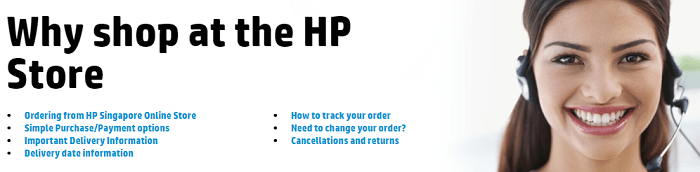 Why shop at the HP store