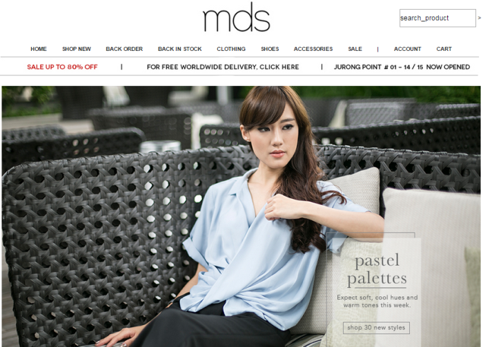 shop with MDS coupons