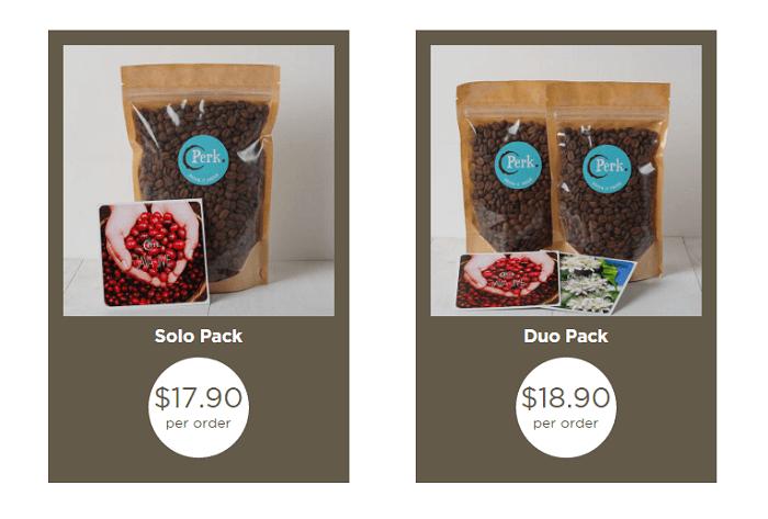 Perk Coffee Duo Pack