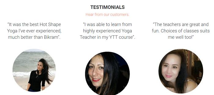 Read the testimonials