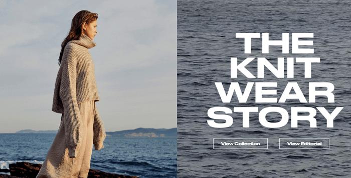 Stunning knitwear