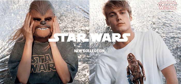 A Star Wars' collection