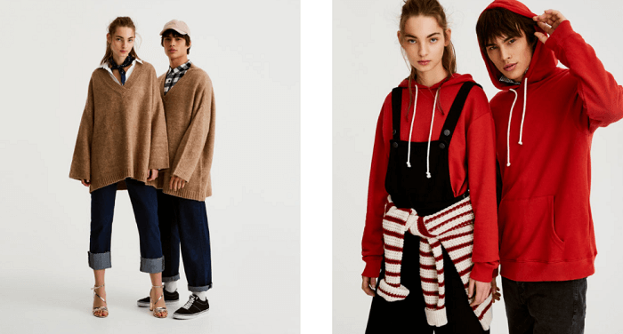 A unisex collection