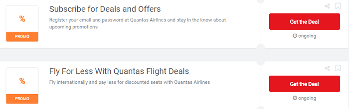 Use your Qantas vouchers