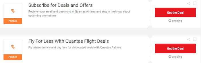 Use your Qantas vouchers