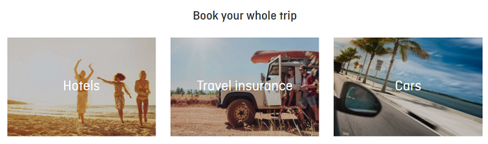 Book your whole trip with Qantas
