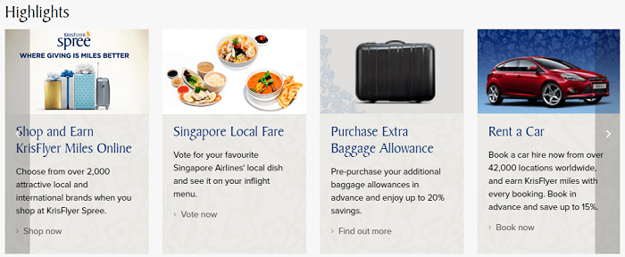 Highlights of flying with Singapore Airlines
